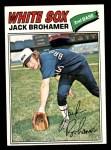1977 Topps #293  Jack Brohamer  Front Thumbnail