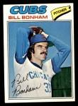 1977 Topps #446  Bill Bonham  Front Thumbnail