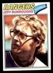 1977 Topps #55  Jeff Burroughs  Front Thumbnail