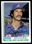 1982 Topps #733  Larry McWilliams  Front Thumbnail