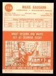 1963 Topps #118  Maxie Baughan  Back Thumbnail
