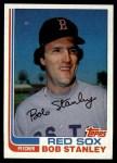 1982 Topps #289  Bob Stanley  Front Thumbnail