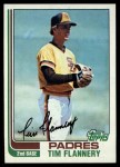 1982 Topps #249  Tim Flannery  Front Thumbnail