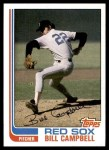 1982 Topps #619  Bill Campbell  Front Thumbnail