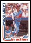 1982 Topps #516   -  Larry Bowa In Action Front Thumbnail