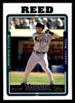 2005 Topps #457  Jeremy Reed  Front Thumbnail