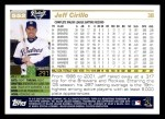 2005 Topps #552  Jeff Cirillo  Back Thumbnail