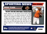 2005 Topps #358   -  Miguel Tejada All-Star Back Thumbnail
