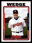 2005 Topps #275  Eric Wedge  Front Thumbnail