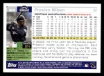 2005 Topps #53  Preston Wilson  Back Thumbnail