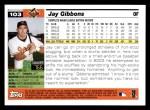 2005 Topps #103  Jay Gibbons  Back Thumbnail