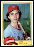 1981 Topps #113  Mike Phillips  Front Thumbnail