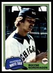 1981 Topps #186  Wayne Nordhagen  Front Thumbnail