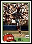 1981 Topps #258  Joe Price  Front Thumbnail