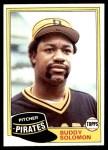 1981 Topps #298  Buddy Solomon  Front Thumbnail