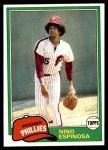 1981 Topps #405  Nino Espinosa  Front Thumbnail