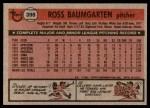 1981 Topps #398  Ross Baumgarten  Back Thumbnail