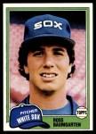1981 Topps #398  Ross Baumgarten  Front Thumbnail
