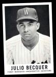 1960 Leaf #43  Julio Becquer  Front Thumbnail