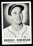 1960 Leaf #27  Brooks Robinson  Front Thumbnail