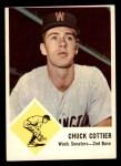 1963 Fleer #28  Chuck Cottier  Front Thumbnail