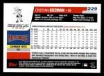 2006 Topps #229  Cristian Guzman  Back Thumbnail