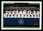 2006 Topps #290   Seattle Mariners Team Front Thumbnail
