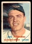 1957 Topps #156  Gus Triandos  Front Thumbnail