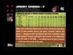 2007 Topps #46  Jeremy Sowers  Back Thumbnail
