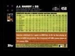 2007 Topps #458  J.J. Hardy  Back Thumbnail