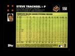 2007 Topps #558  Steve Trachsel  Back Thumbnail