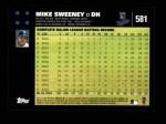 2007 Topps #581  Mike Sweeney  Back Thumbnail
