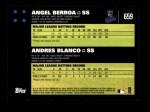 2007 Topps #659   -  Angel Berroa / Andres Blanco Classic Combo Back Thumbnail