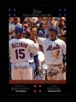2007 Topps #656   -  Carlos Beltran / Jose Reyes Classic Combo Front Thumbnail