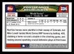 2008 Topps #234   Boston Red Sox Back Thumbnail