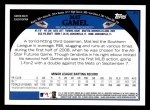 2009 Topps #71  Mat Gamel  Back Thumbnail