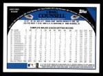 2009 Topps #119  Craig Counsell  Back Thumbnail