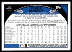 2009 Topps #540  Russell Martin  Back Thumbnail