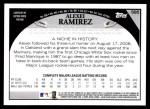 2009 Topps #585  Alexei Ramirez  Back Thumbnail