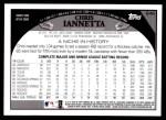 2009 Topps #646  Chris Iannetta  Back Thumbnail