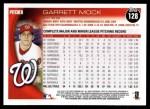 2010 Topps #128  Garrett Mock  Back Thumbnail