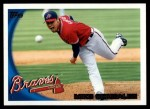 2010 Topps #174  Mike Gonzalez  Front Thumbnail