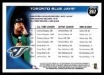 2010 Topps #267   Blue Jays History Back Thumbnail