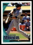 2010 Topps #451  Michael Saunders  Front Thumbnail