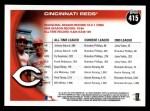 2010 Topps #415   Reds History Back Thumbnail
