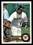 2011 Topps #95  Pedro Alvarez  Front Thumbnail