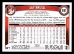 2011 Topps #191  Jay Bruce  Back Thumbnail