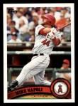 2011 Topps #201  Mike Napoli  Front Thumbnail