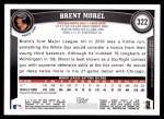 2011 Topps #322  Brent Morel  Back Thumbnail