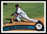 2011 Topps #326  Ozzie Martinez  Front Thumbnail